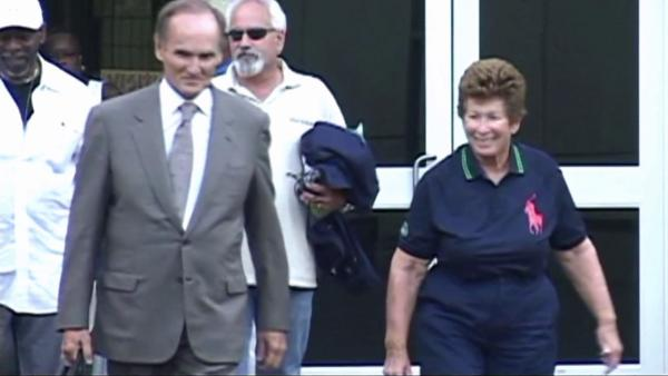 Tennis umpire out on bail - still in uniform