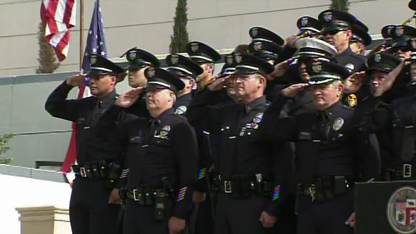 LA firefighters honor victims of 9/11