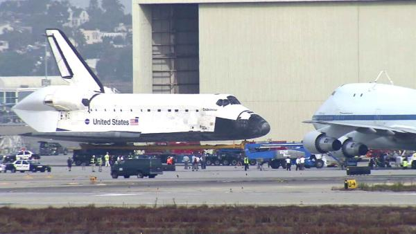 Endeavour prepares for move to science center