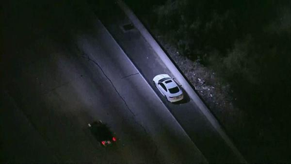 Van Nuys pursuit: 2 suspects in custody