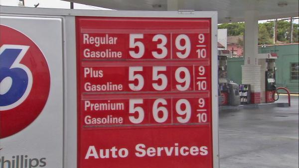 Gas prices stay at record highs overnight