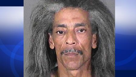Wilbert Matheney was arrested for allegedly sneaking into a Sylmar home and stealing a computer. Police say his ankle bracelet gave him away.