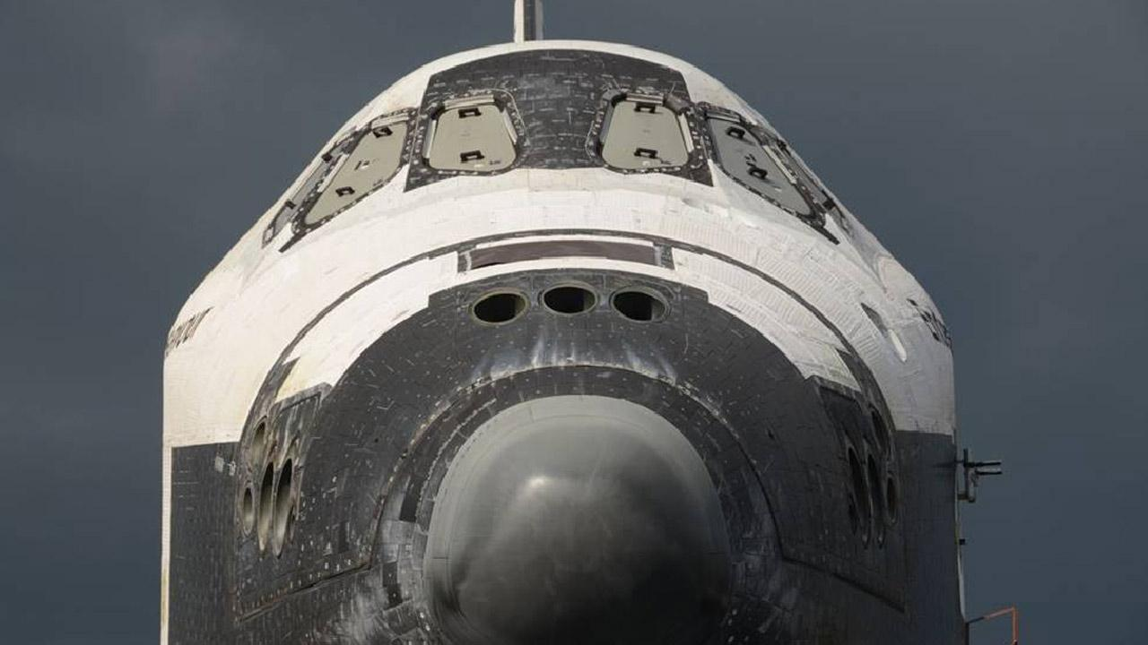 ABC7 viewer Michael Hall took this picture of space shuttle Endeavour on Friday, Oct. 12, 2012. <span class=meta>(ABC7 viewer Michael Hall)</span>