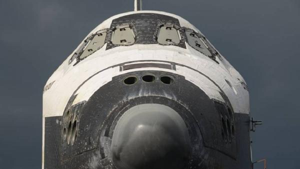 ABC7 viewer Michael Hall took this picture of space shuttle Endeavour on Friday, Oct. 12, 2012.