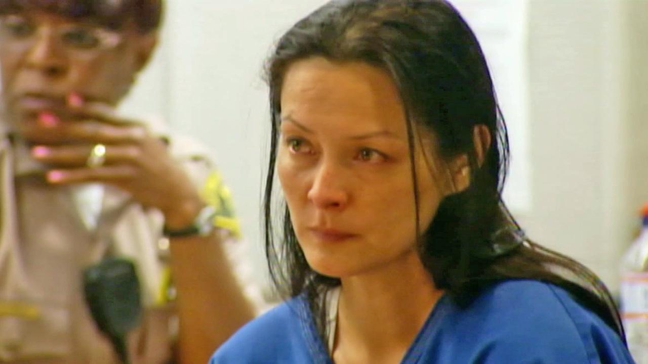 Murder suspect Kelly Soo Park is shown in court in this undated file photo. Park has pleaded not guilty to murdering 21-year-old Juliana Redding, an aspiring actress and model who was brutally killed in Santa Monica in 2008.