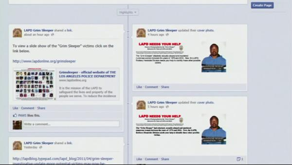 LAPD uses social media in 'Grim Sleeper' case