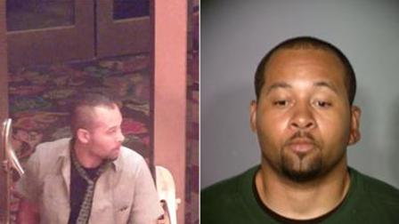 Akingide Cole is seen in these photos released by the Las Vegas Metropolitan Police Department.