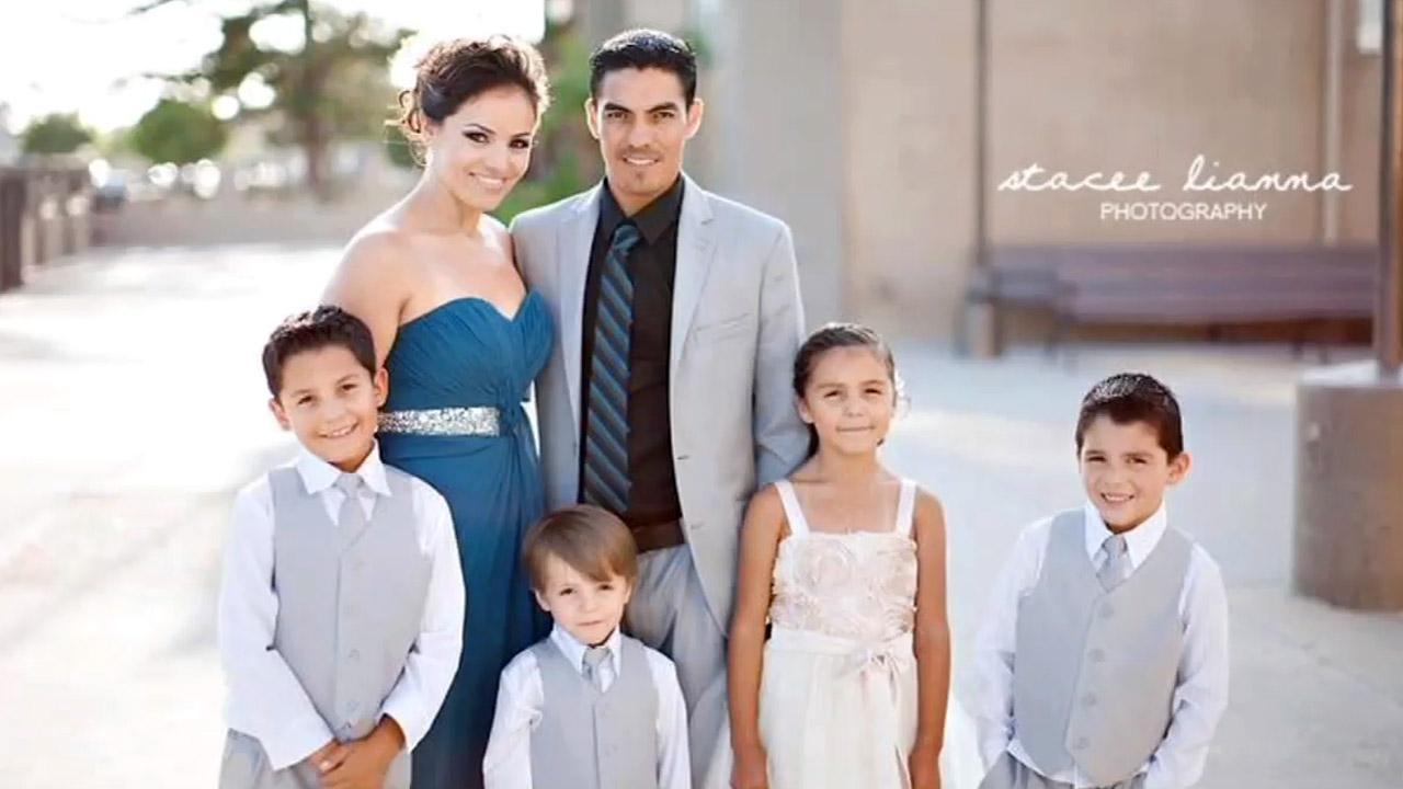 An undated file photo of the Lamas-Jimenez family of Inglewood. On Saturday, Oct. 20, 2012, the family was the target of a shooting rampage that left the father, Filimon Lamas, 30, and his 4-year-old son dead.