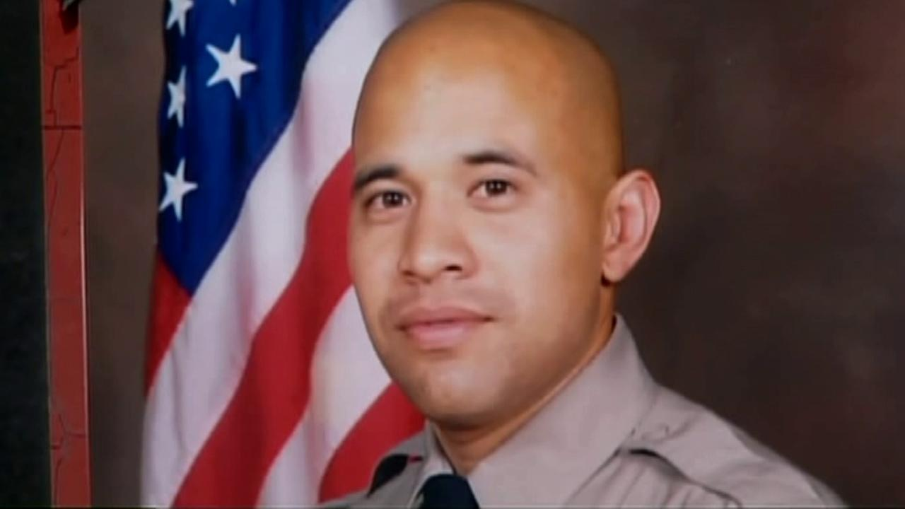 Deputy Juan Abel Escalante is seen in this undated file photo. Escalante was shot and killed Aug. 2, 2008 outside his Cypress Park home.