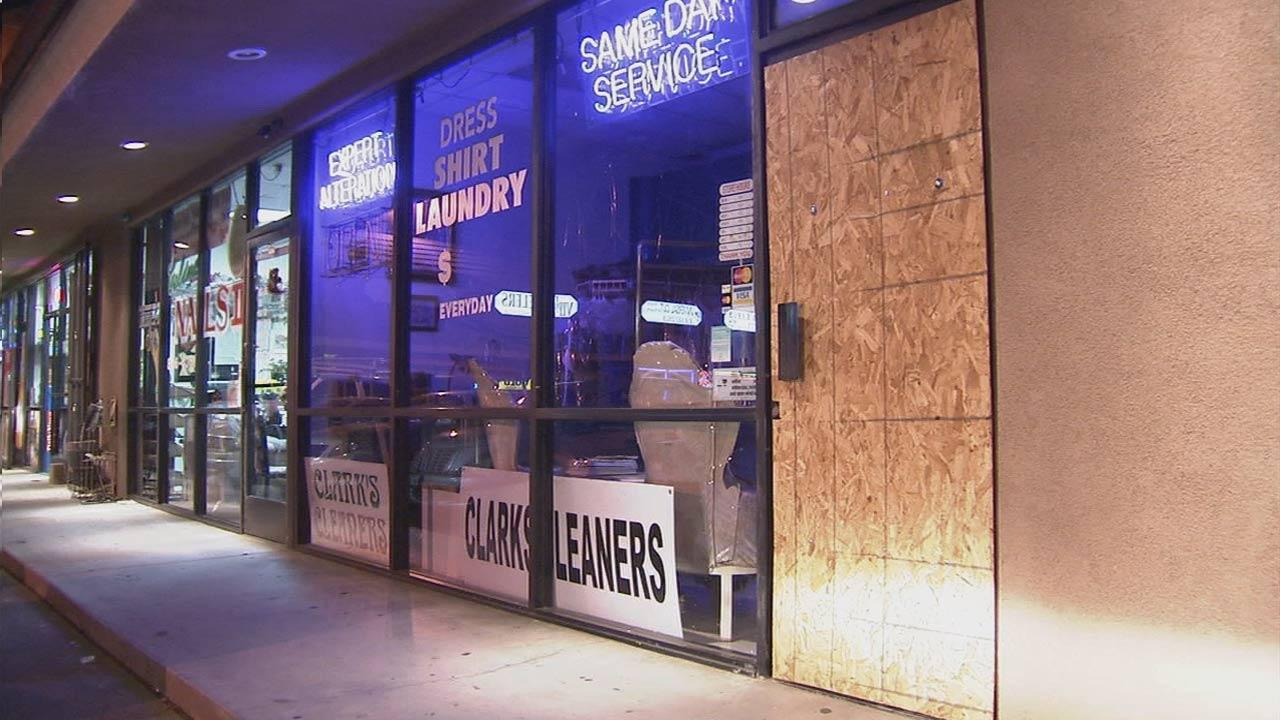 More than a dozen commercial business burglaries were reported in Burbank Saturday, Oct. 27, 2012.