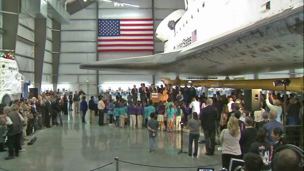 Endeavour exhibit opens at Science Center