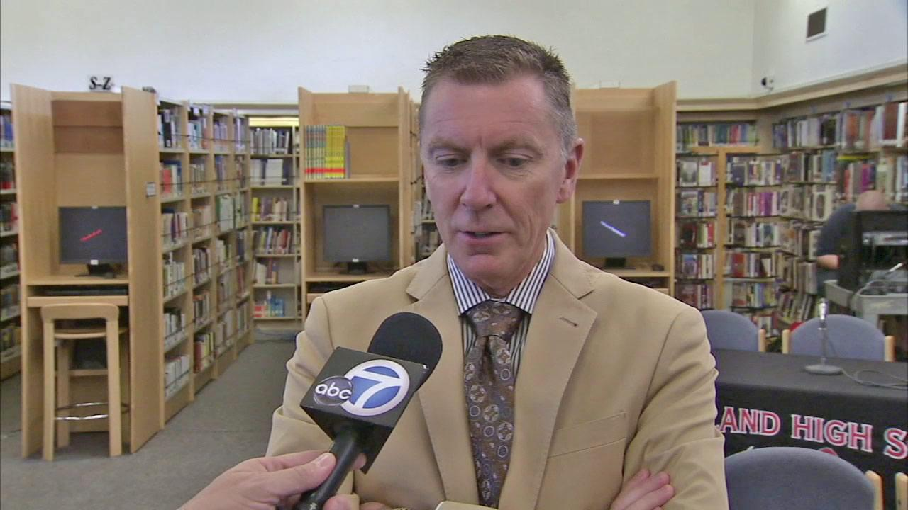 LAUSD Superintendent John Deasy discusses the Race to the Top grant program on Tuesday, Oct. 30, 2012.