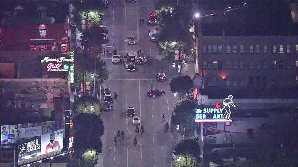 3 hospitalized in Hollywood Halloween shooting