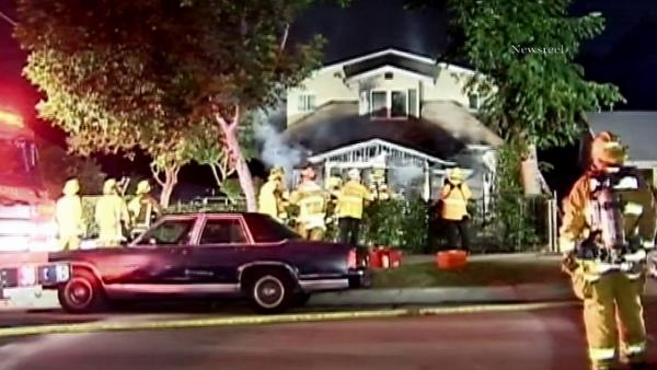 Pasadena group home catches on fire; 2 killed