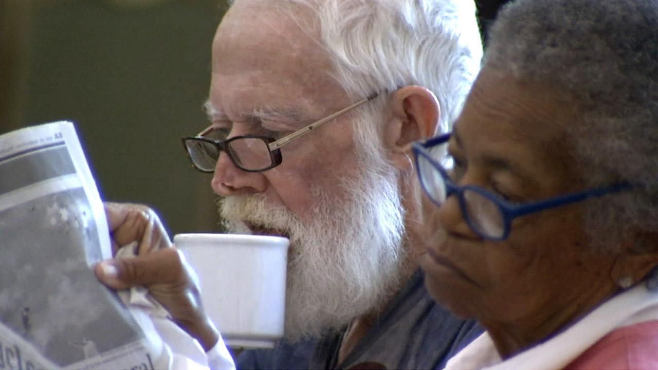 Senior citizens spend some time at the Pasadena Senior Center in this file photo from November 2012.