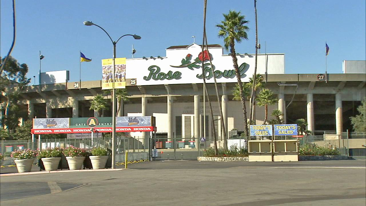 The Rose Bowl is seen in this file photo.