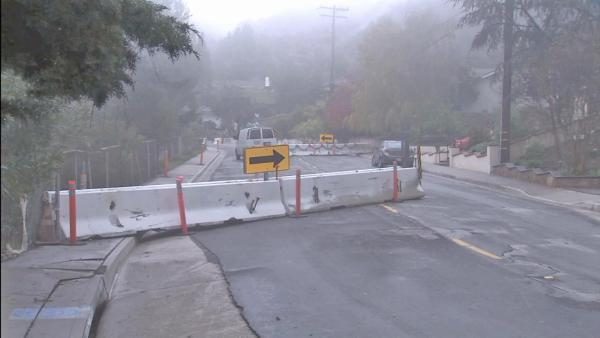 Foothills prevent landslides in rain