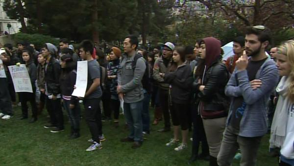 Racist slurs on UCLA campus anger students