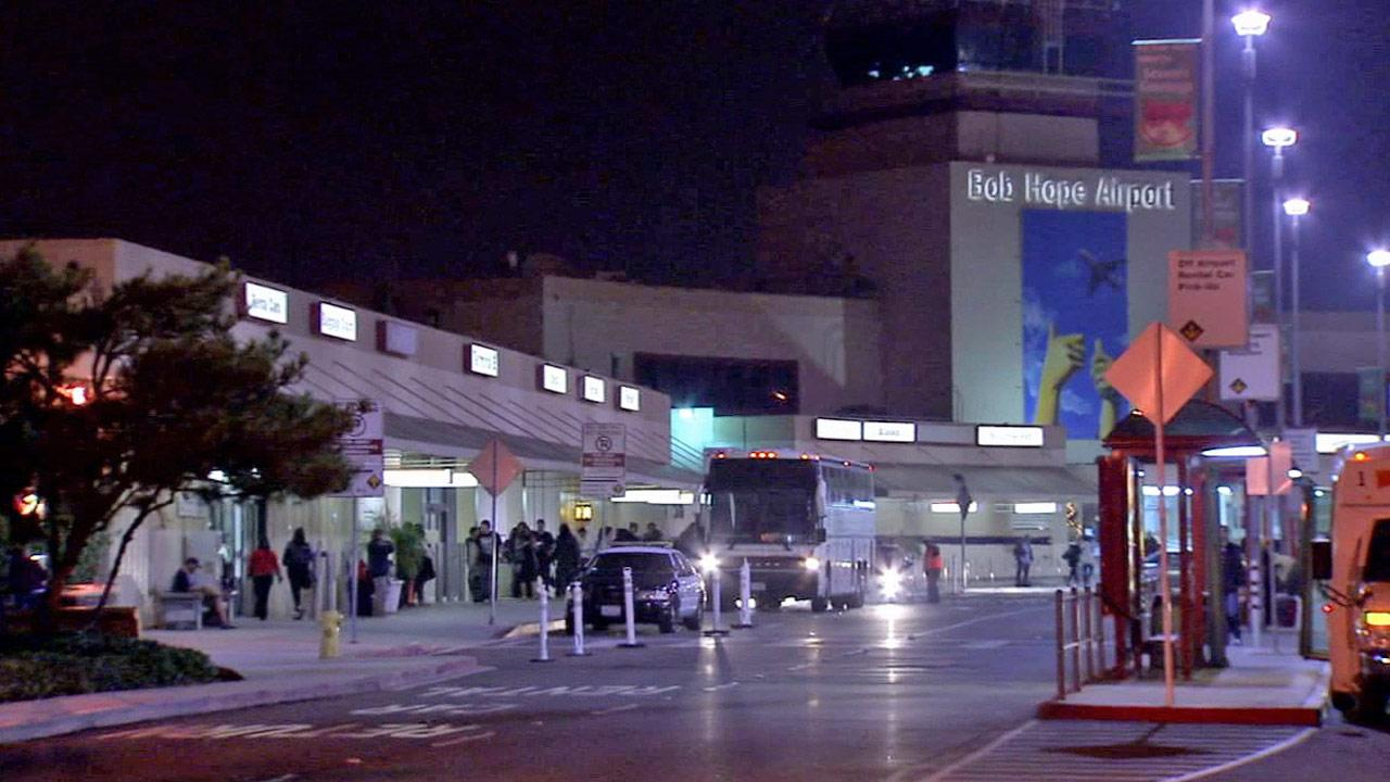 Bob Hope Airport in Burbank is seen in this undated file photo.