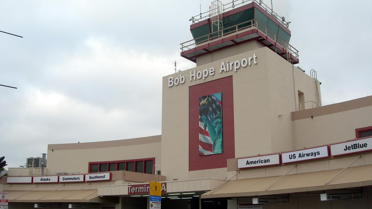 The Bob Hope Airport in Burbank is shown in this undated file photo.