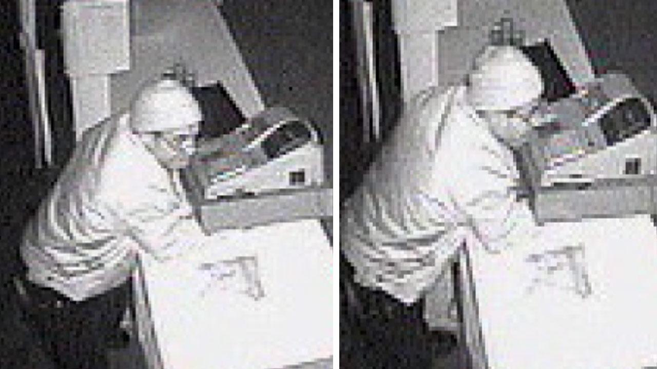 LAPD have released surveillance photos of a man responsible for multiple commercial burglaries in the Hollenbeck area of Los Angeles.