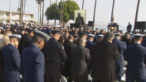 Memorial held for fallen Coast Guardsman