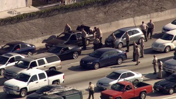 Suspects in custody after search on 110 North