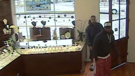 The two men, pictured above, are wanted for questioning in a Santa Monica jewelry store robbery which took place on Friday, Nov. 30, 2012. Anyone with information regarding the subjects was urged to contact the Santa Monica Police Department.
