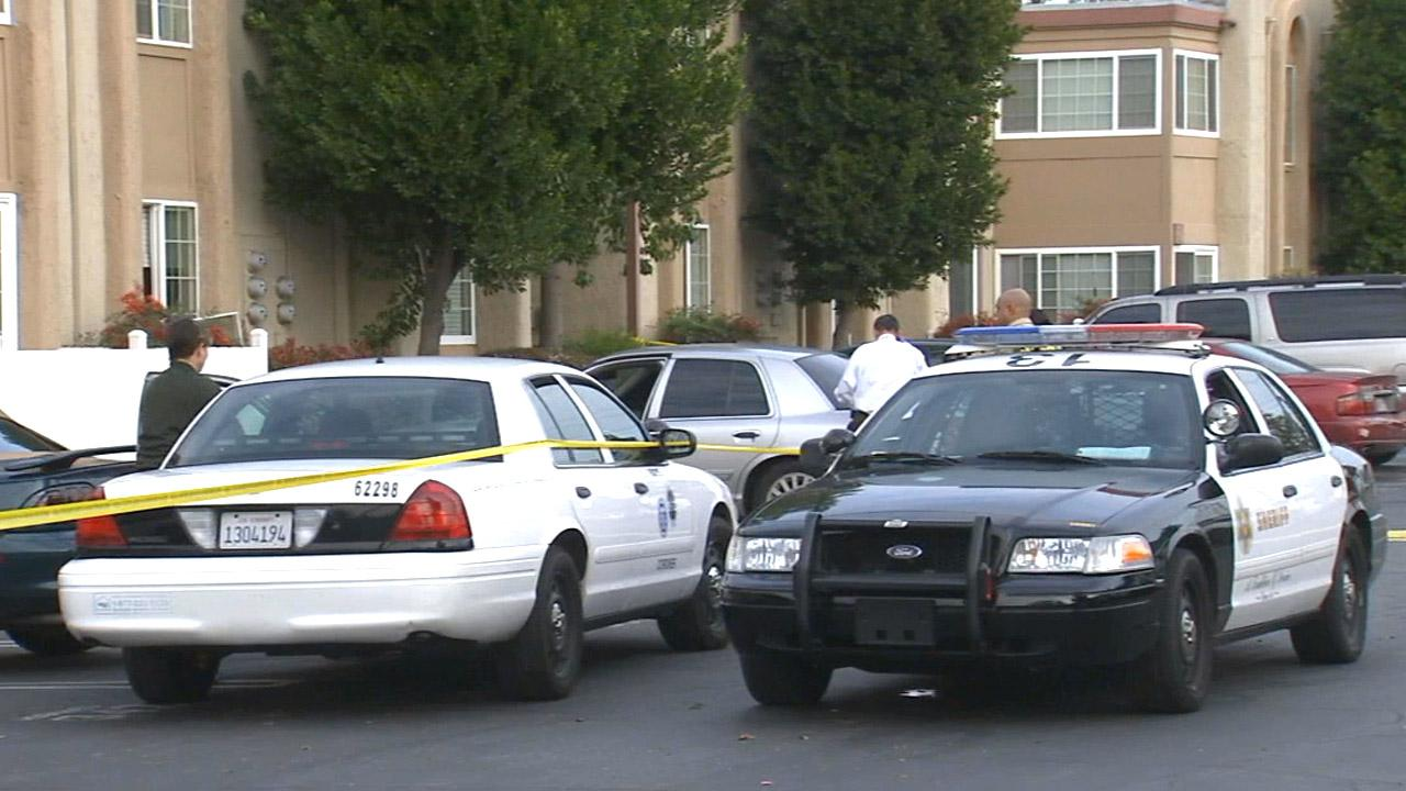 Detectives were investigating a homicide in Bellflower on Sunday, Dec. 23, 2012.