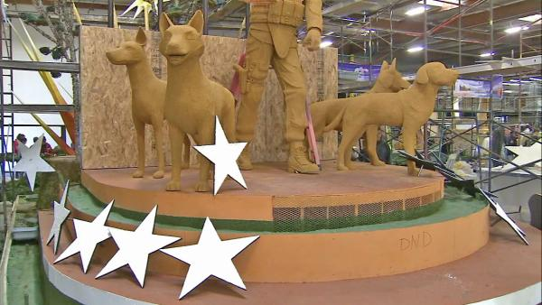 Rose Parade: A preview of magnificent floats