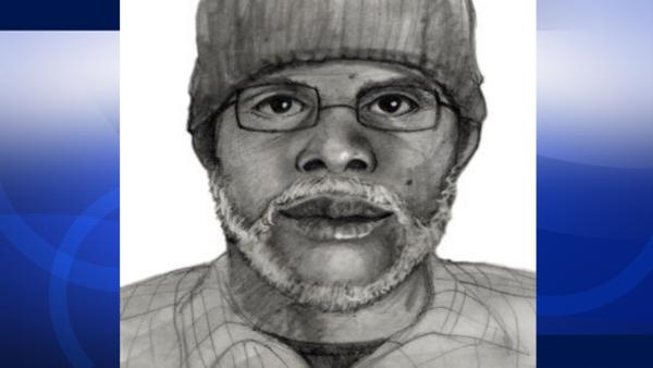 Sketch released in South Bay mall stabbing