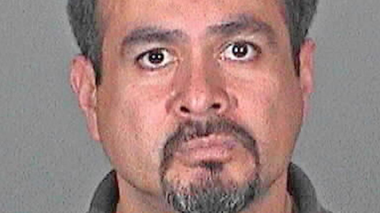 Albert Gutierrez, 45, is accused of sending inappropriate text messages to an 11-year-old girl.