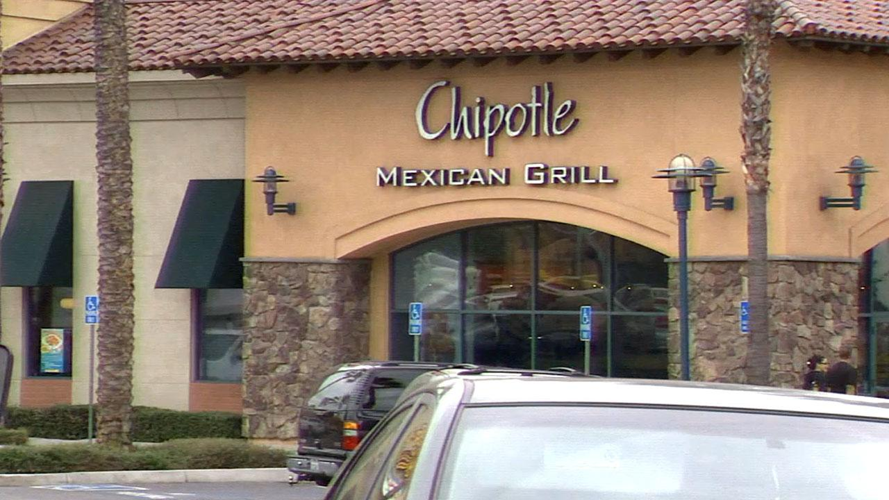 A Chipotle restaurant in West Covina on Saturday, Feb. 2, 2013.