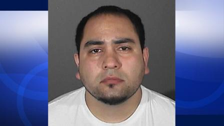 Albert Anthony Morales, 33, is shown in a booking photo provided by the Los Angeles Sheriffs Department. Morales is accused of sexually assaulting a 16-year-old female student in the summer of 2006.
