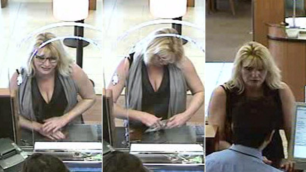 Sheriffs detectives are seeking public assistance in identifying a woman in surveillance pictures suspected of multiple identity thefts.