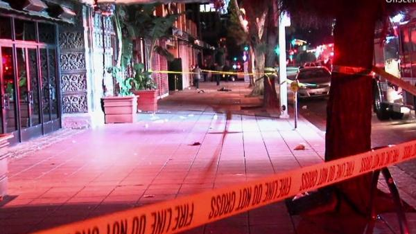 Belasco club stabbing: 5 hurt, 2 in custody
