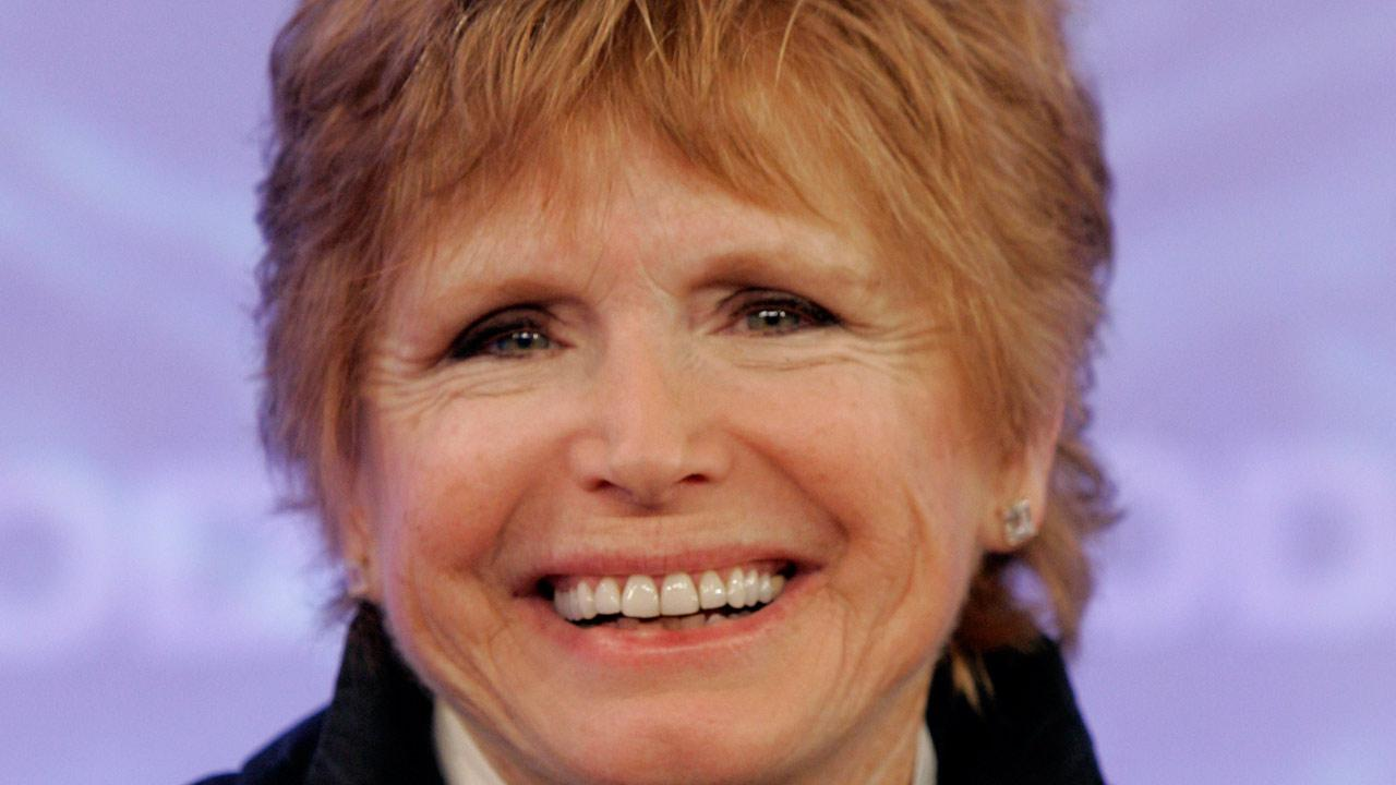 Bonnie Franklin, of the 1970s sitcom One Day at a Time, appears on the the NBC Today television program in New York. Franklin died from complications of pancreatic cancer at her home in Los Angeles, Friday, March 1, 2013. <span class=meta>(Richard Drew)</span>