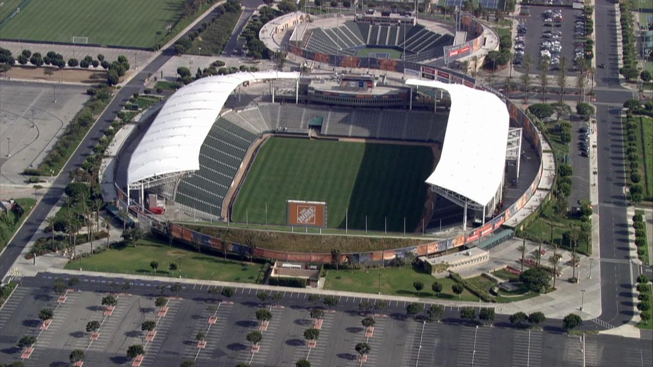 The Home Depot Center in Carson is seen in this undated file photo.