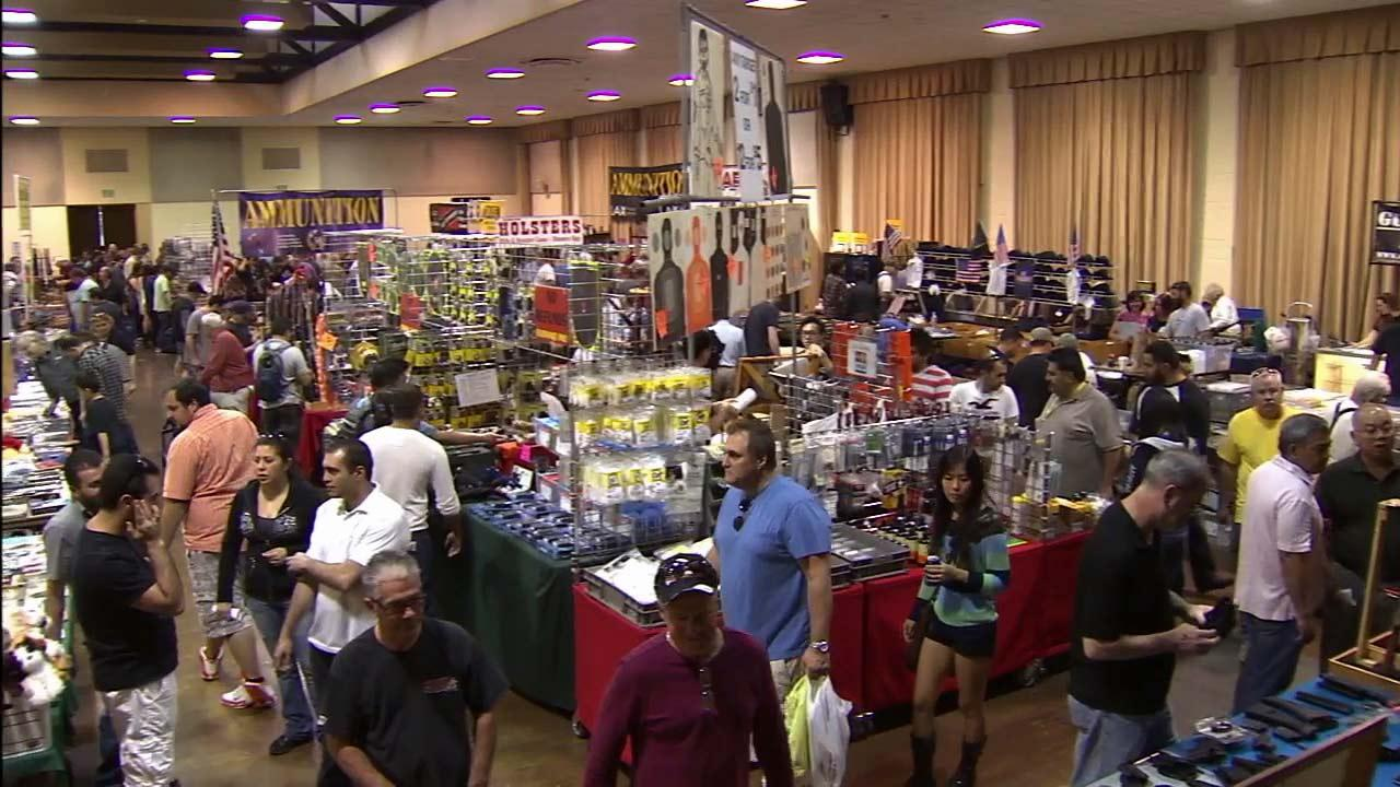 Hundreds of gun enthusiasts turned out for the Glendale Gun Show held at the Glendale Civic Auditorium on Saturday, March 2, 2013.
