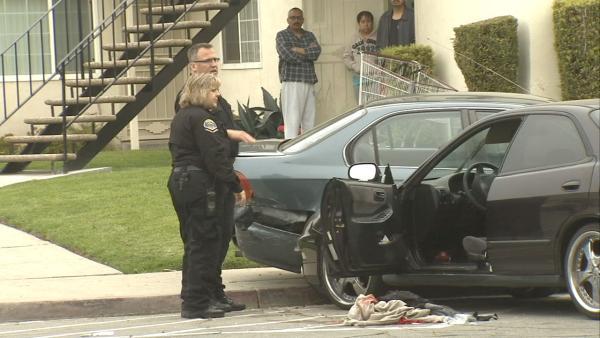 Pomona shooting 2 slain teens were best friends say neighbors abc7
