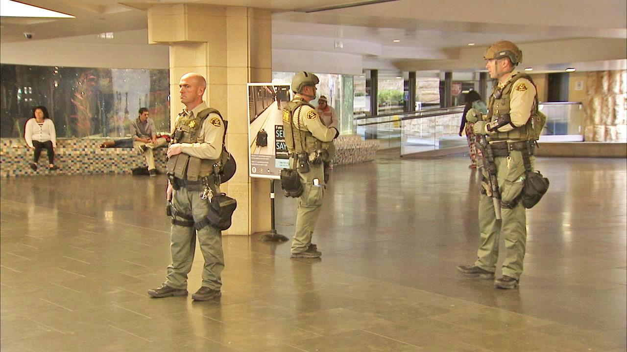 Security increased around LA; authorities urge vigilance