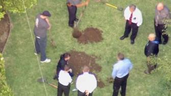 Investigators dug up a Glendora homes backyard Wednesday, May 22, 2013, hoping to find evidence related to a 1978 cold case disappearance.