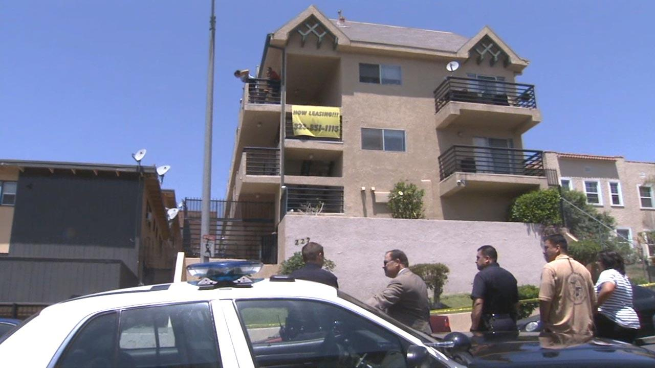 An 11-year-old boy was stabbed to death during an argument in his home in Los Angeles Westlake district Monday, May 27, 2013.