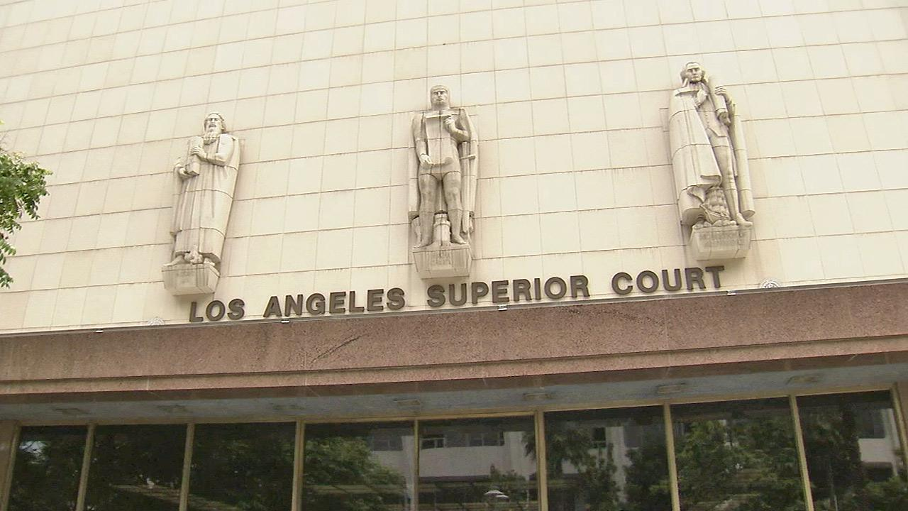 Los Angeles Superior Court is seen.