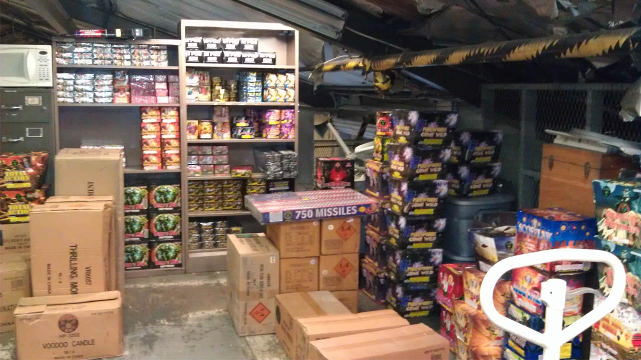 Illegal fireworks seized near Whittier school