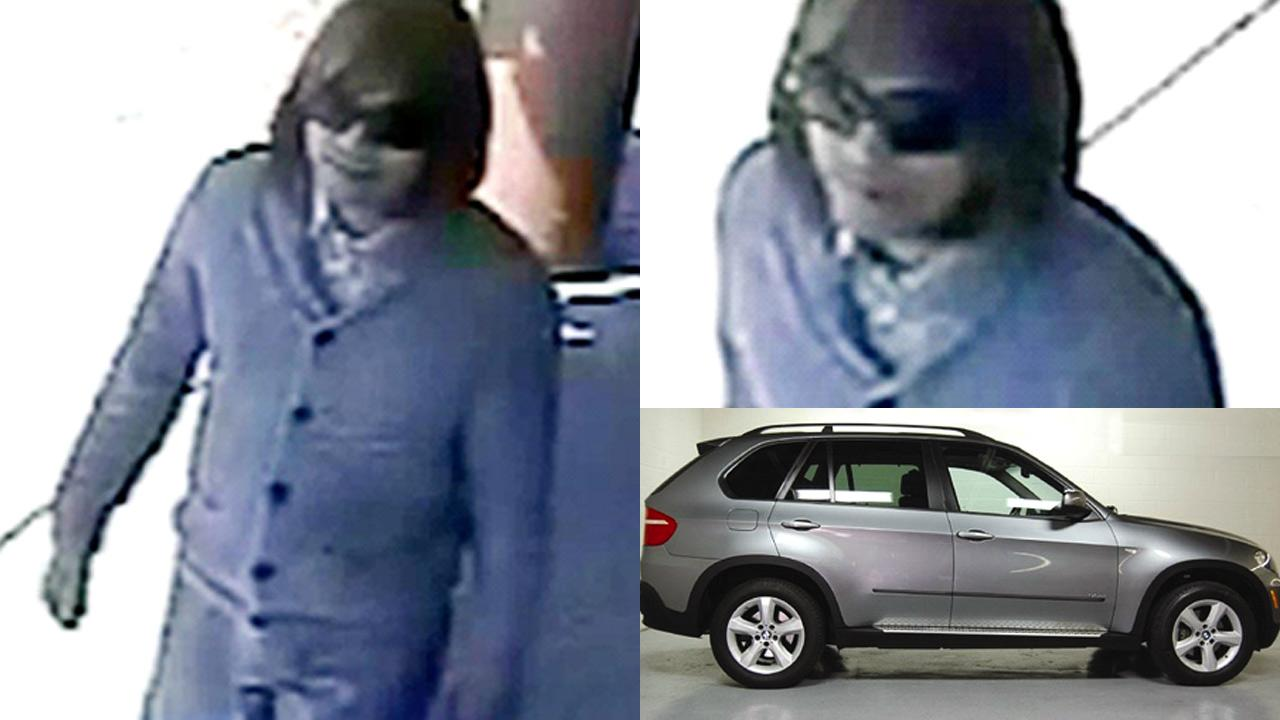 The LAPD provided these images in their hunt for the Asian Wig Bandit.