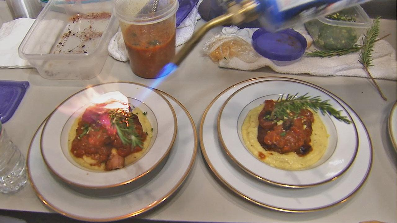 Inspired by cooking shows, firefighters square off to wow judges with a signature dish in the Firehouse Challenge Cook-Off.
