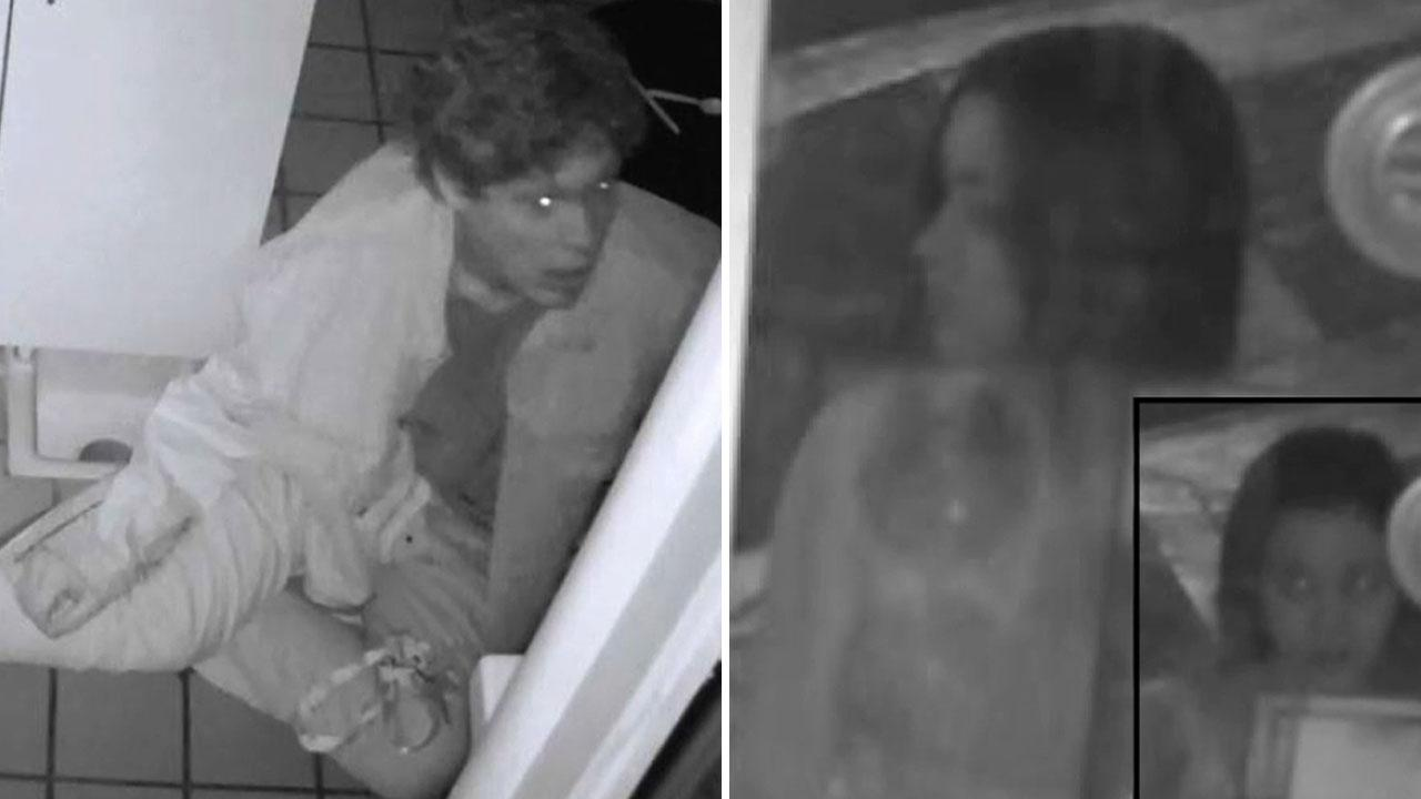 Police are asking the public to help find a man and a woman suspected of burglarizing two food kiosks at the Americana at Brand in Glendale on Sunday, July 28, 2013.