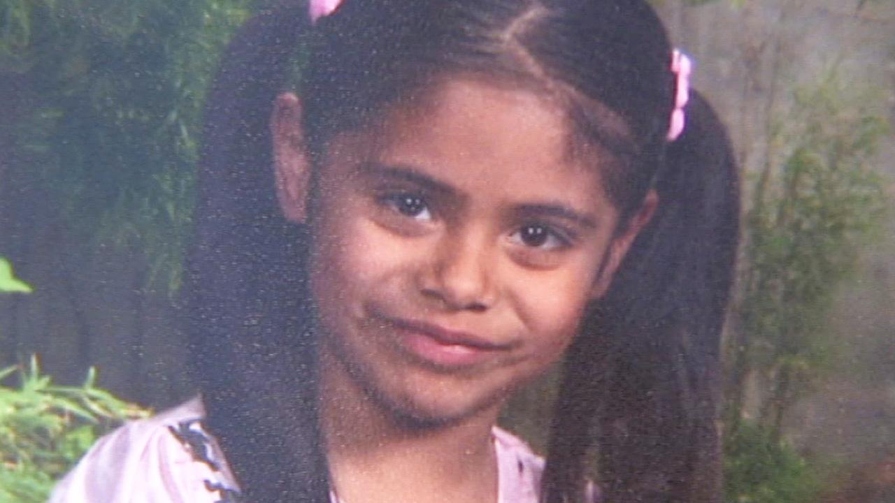 Desirae Ybarra, 7, is shown in this undated photo. Desirae was declared brain dead after being shot by gunmen chasing her family car in Palmdale on Wednesday, Sept. 4, 2013.