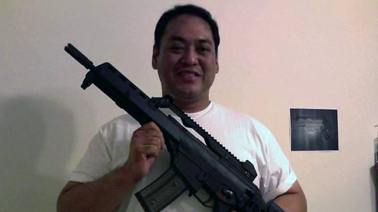 Wilfredo Maralit, a Customs and Borders Protection officer at Los Angeles International Airport, was accused Friday, Sept. 6, 2013, along with his two brothers of conspiring to sell high-powered guns to potential buyers.